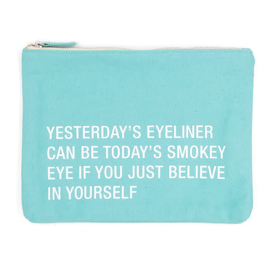 About Face Yesterday's Eyeliner Cosmetic Bag