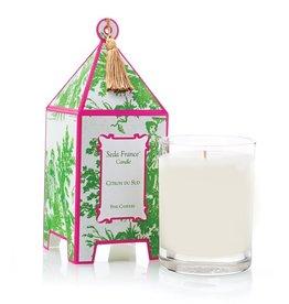 Seda France Citron du Sud Classic Toile Pagoda Box Candle
