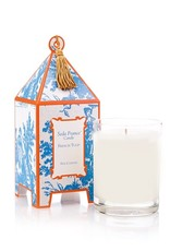 Seda France French Tulip Classic Toile Pagoda Box Candle