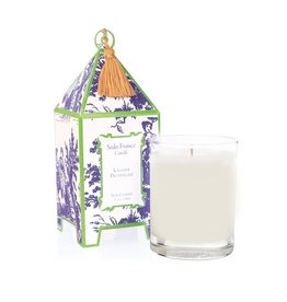 Seda France Lavande Provencale Classic Toile Pagoda Box Candle