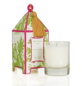 Seda France Citron du Sud Classic Toile Mini Pagoda Box Candle