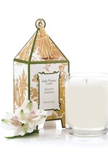 Seda France Elegant Gardenia Classic Toile Mini Pagoda Box Candle