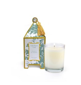 Seda France Fleurs de St. Germain Classic Toile Mini Pagoda Box Candle