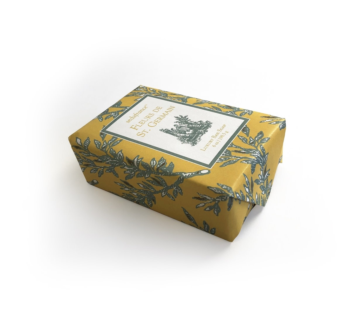 Seda France Fleurs de St. Germain Classic Toile Paper-Wrapped Bar Soap