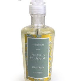 Seda France Fleurs de St. Germain Classic Toile Liquid Hand Soap
