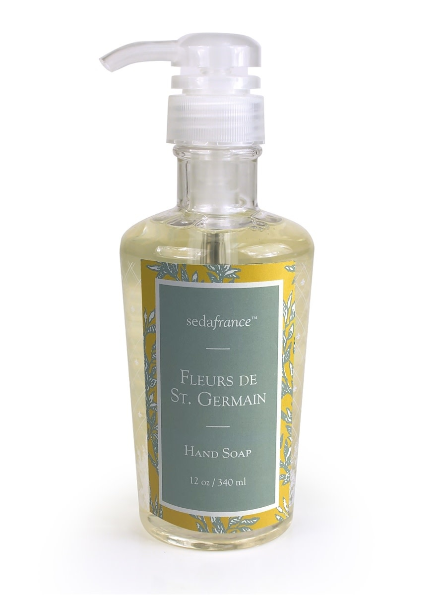 Seda France Fleurs de St. Germain Classic Toile Liquid Hand Soap