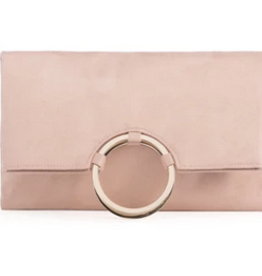 Shiraleah Larc Clutch Blush