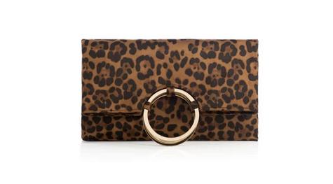 Shiraleah Larc Clutch Leopard