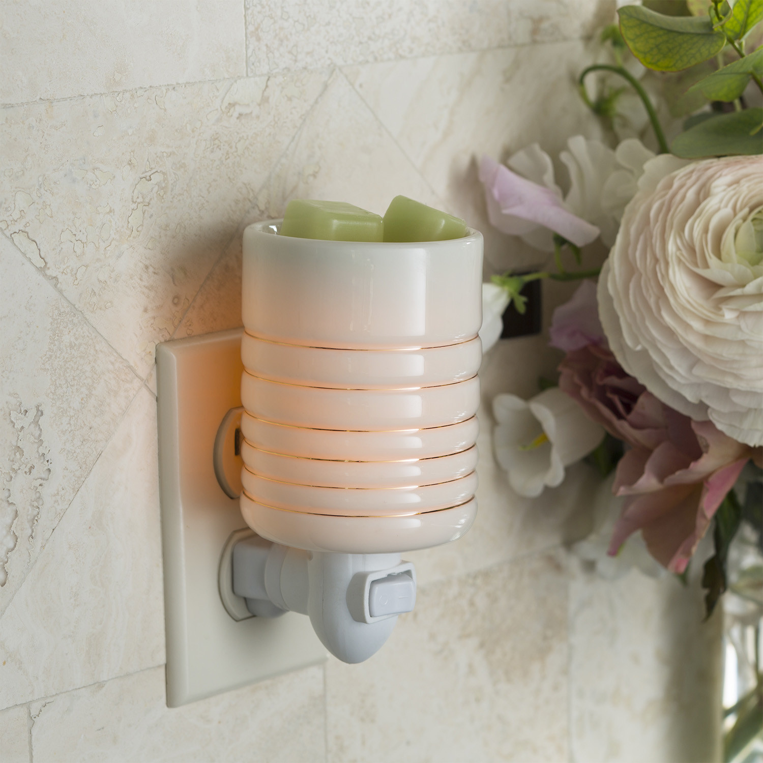 Candle Warmers Serenity Pluggable Fragrance Warmer