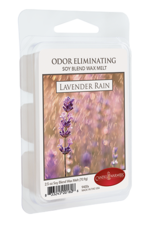 Candle Warmers Lavender Rain Odor Eliminating Melts