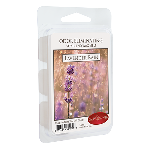 Candle Warmers Lavender Rain Odor Eliminating Melts