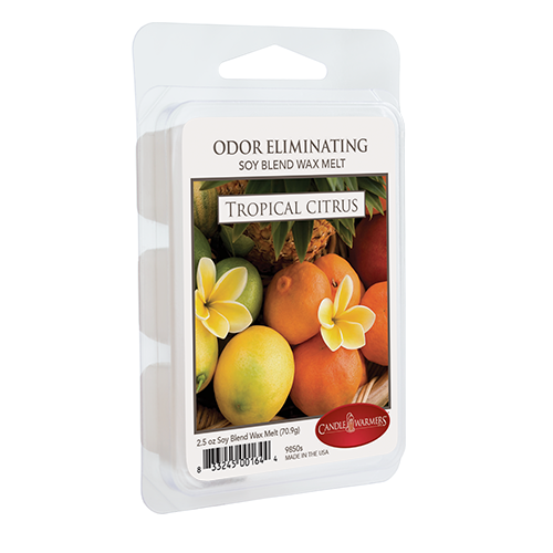 Candle Warmers Tropical Citrus Odor Eliminating Melts