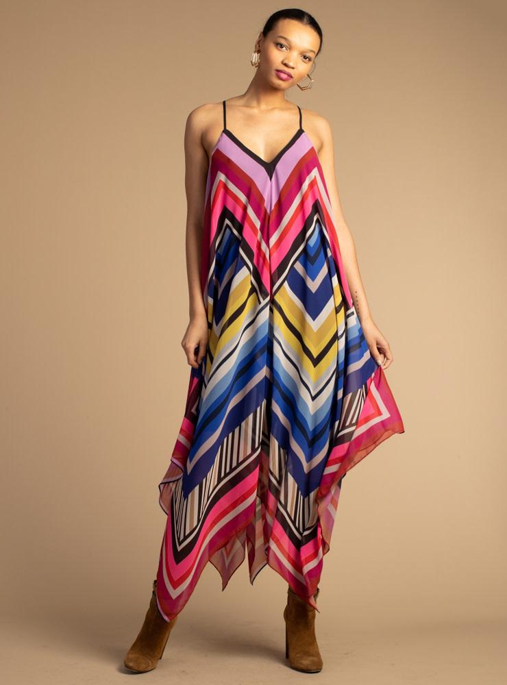 Trina Turk Handkerchief Dress
