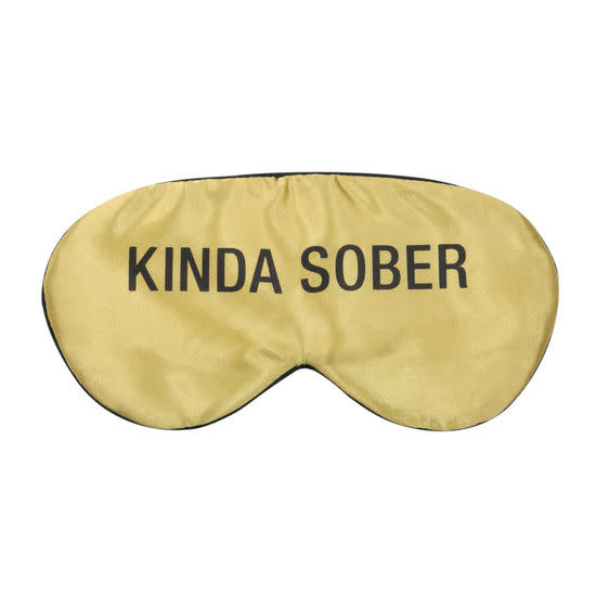 About Face Kinda Sober Sleep Mask
