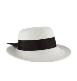 Dorfman Pacific Riviera Hat w/ Band and Bow