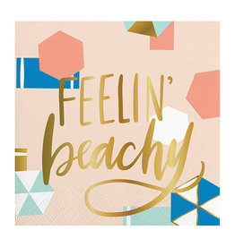 Slant Feelin Beachy Napkins 20 CT
