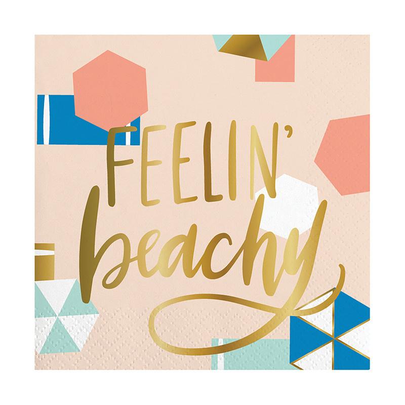 Slant Feelin Beachy Napkins 20 CT