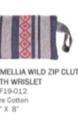 America & Beyond Camellia Wild Dove Clutch
