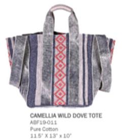 America & Beyond Camellia Wild Dove Tote