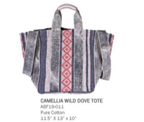 Camellia Wild Dove Tote