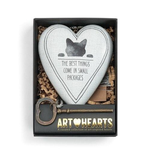 Demdaco Art Heart Best Things Cat