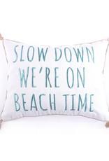 Levtex Slow Down Beach Time Pillow