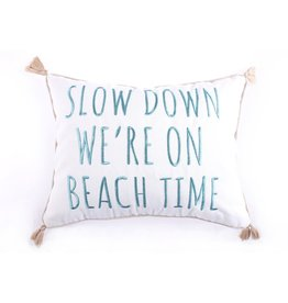 Levtex Slow Down Beach Time Pillow