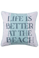 Levtex Better at the Beach Pillow
