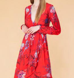 Hale Bob Xanadu Wrap Dress