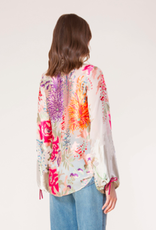 Hale Bob Orlean Silk Beaded Top