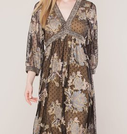 Hale Bob Wallis Embroidered Dress
