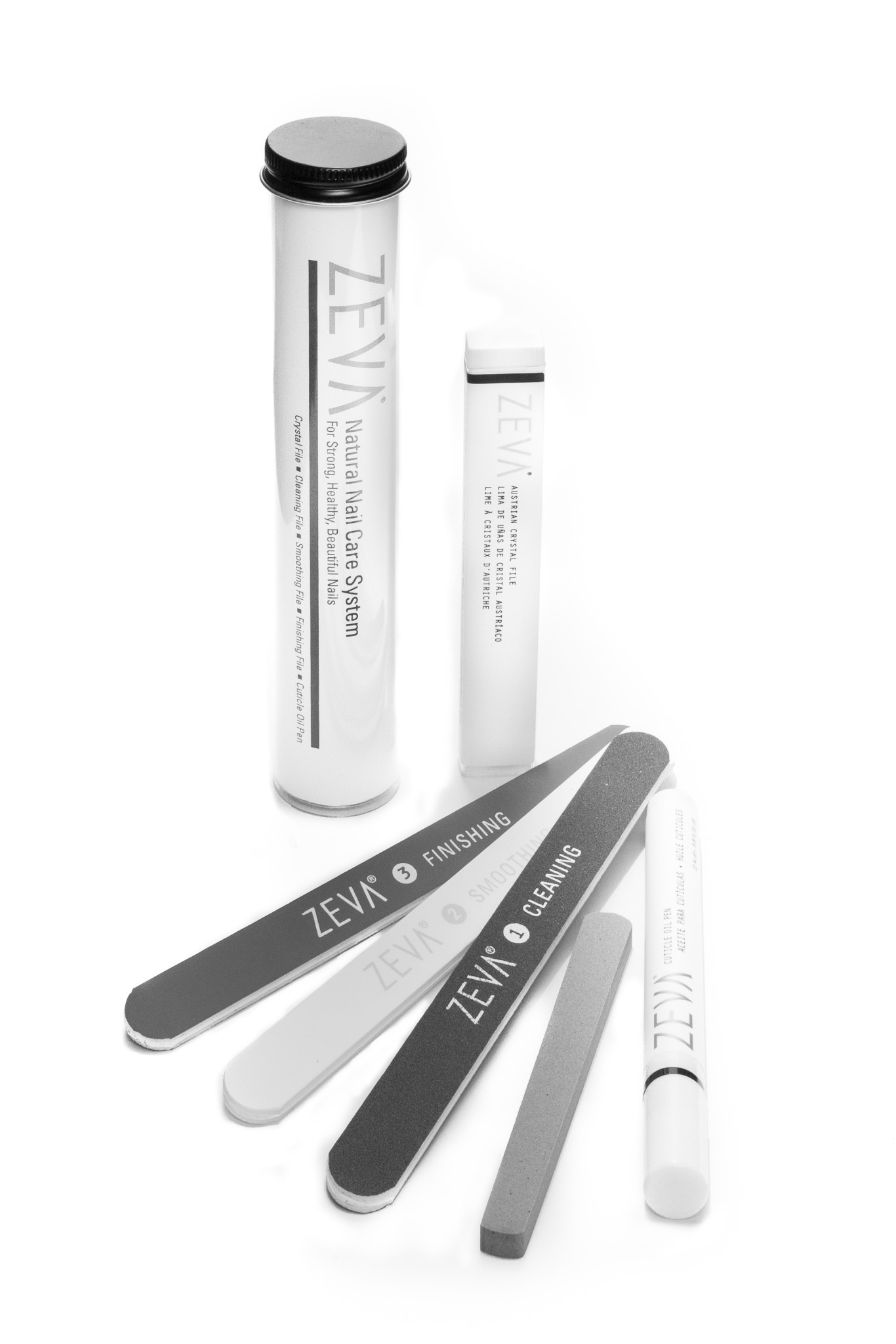 Zeva 5-Piece Natural Nail Care System