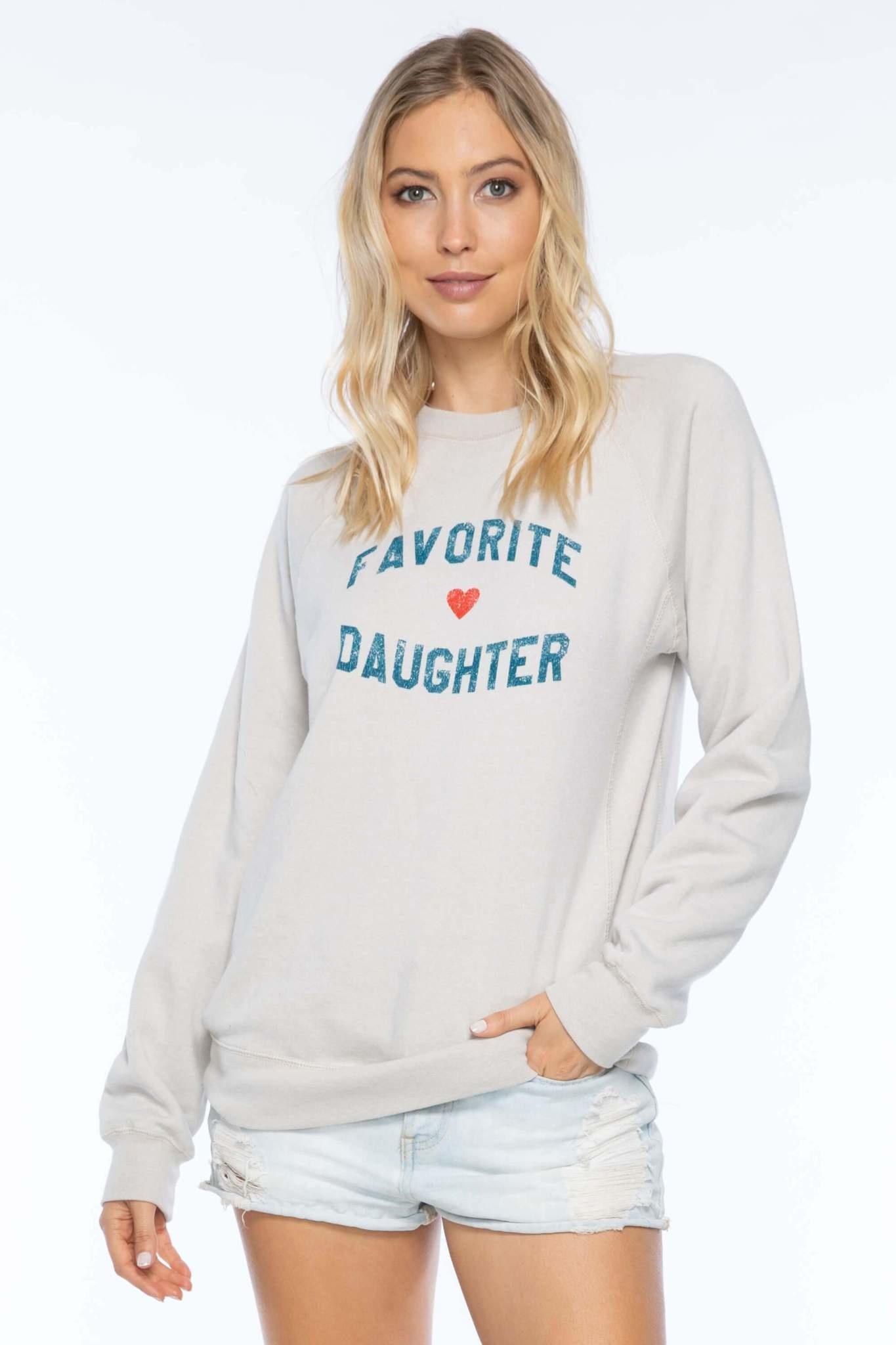 Sub Urban Riot Favorite Daughter Sweatshirt Oatmeal