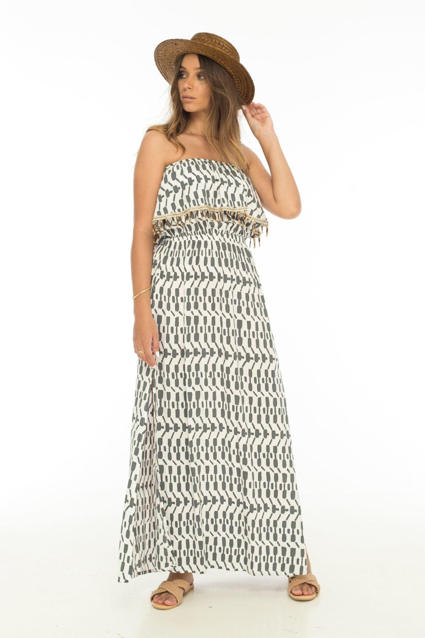 Skemo Antigua Ruffle Dress