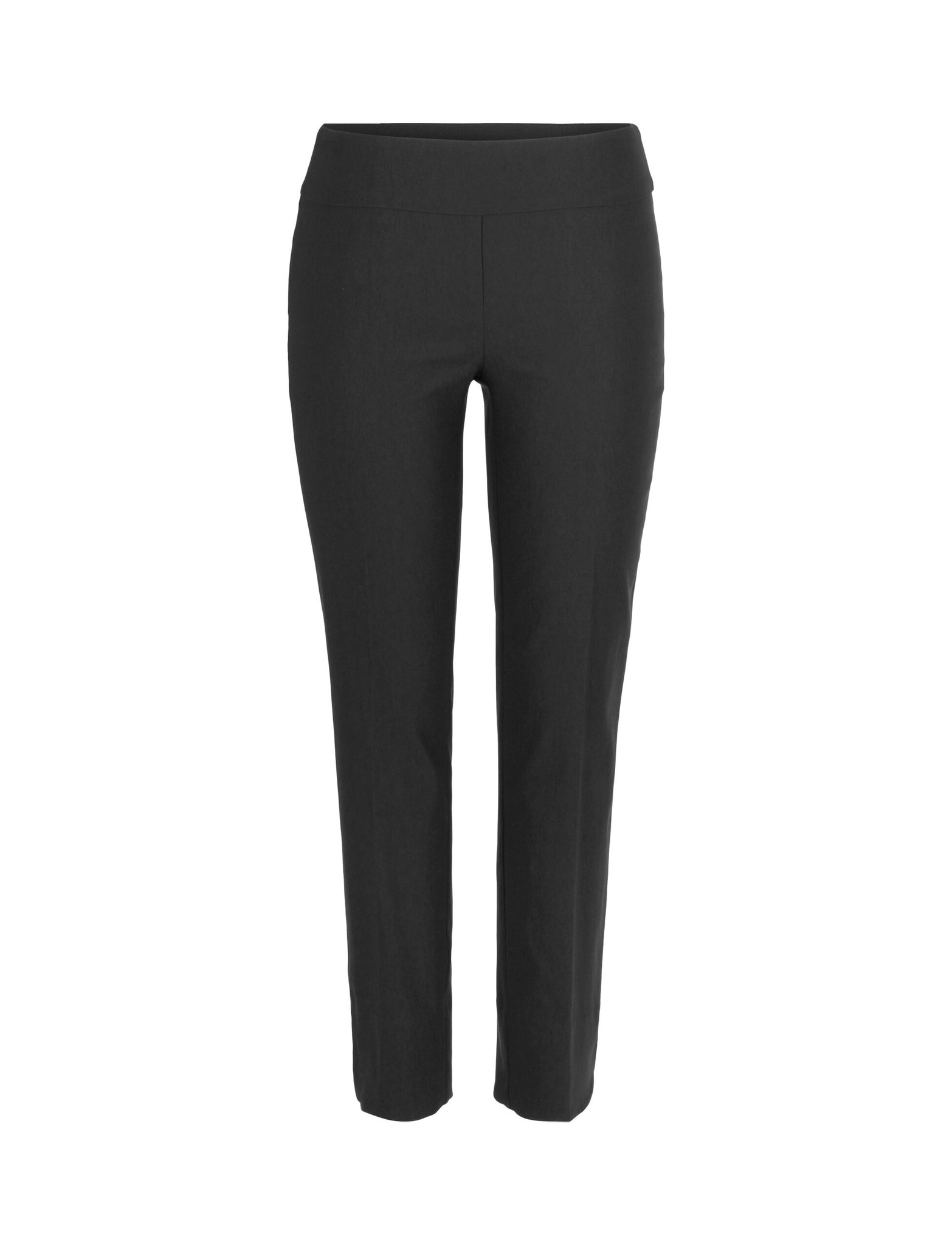 Up Ankle Pant Petal Slit Black