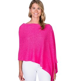 Claudia Nichole Cashmere Topper Bloom Pink