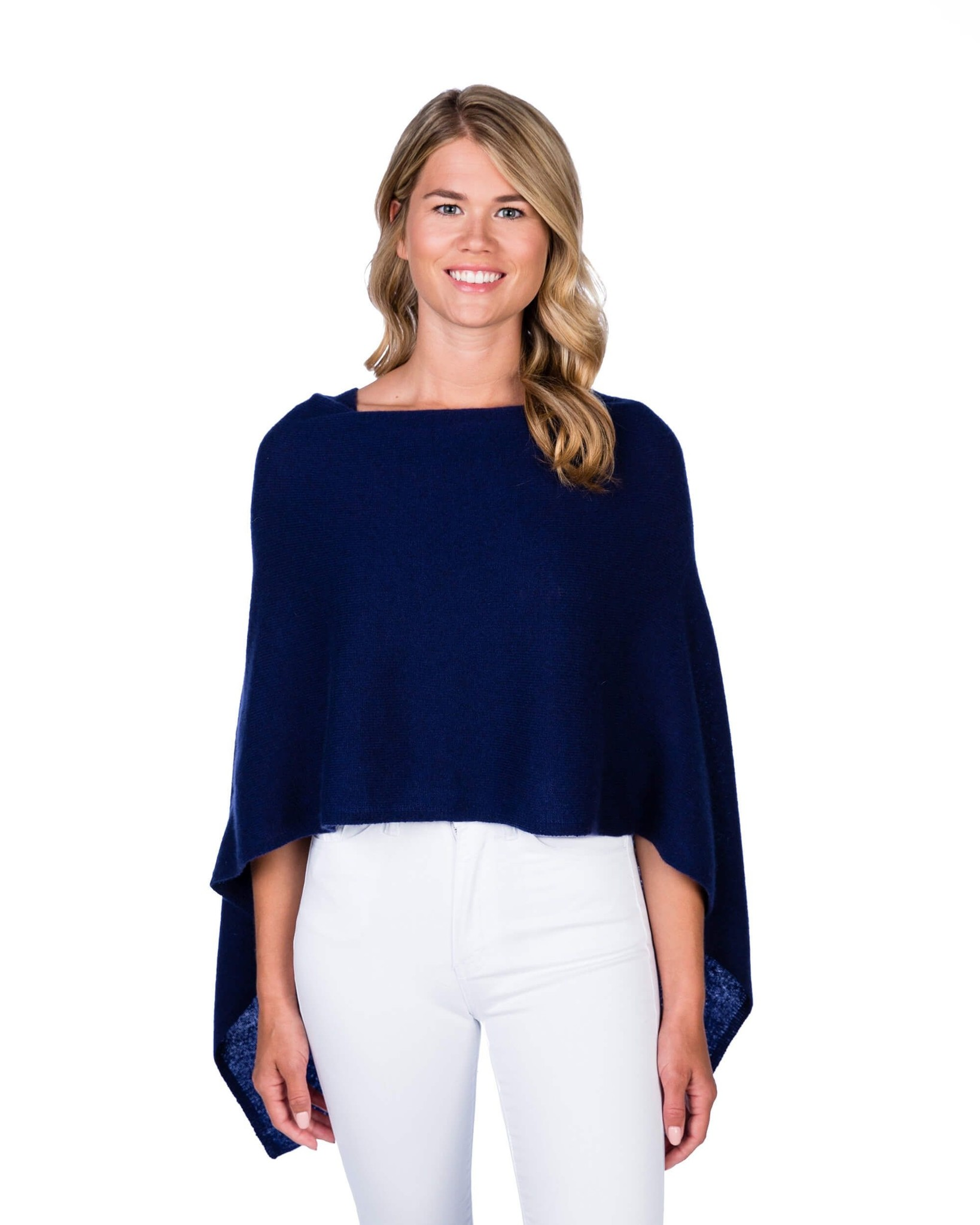 Claudia Nichole Cashmere Topper Midnight