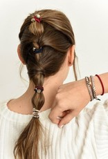 By Lilla Bracelet/Hair Tie Stack Ladylike