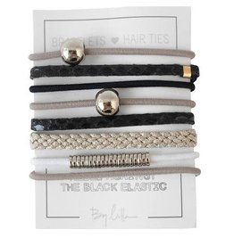 By Lilla Bracelet/Hair Tie Stack Shadow