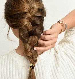 By Lilla Bracelet/Hair Tie Mini Stack Sand