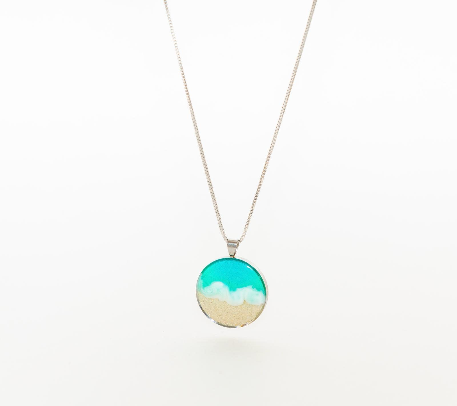 Wellington Michael Wellington Michael Collection Shoreline Circle Necklace
