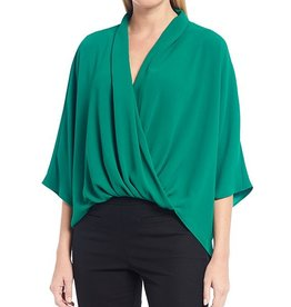 Trina Turk Concourse Top Emerald