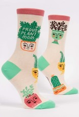 Blue Q Blue Q Women's Sock Proud Plant Mom