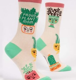 Blue Q Women's Sock Proud Plant Mom