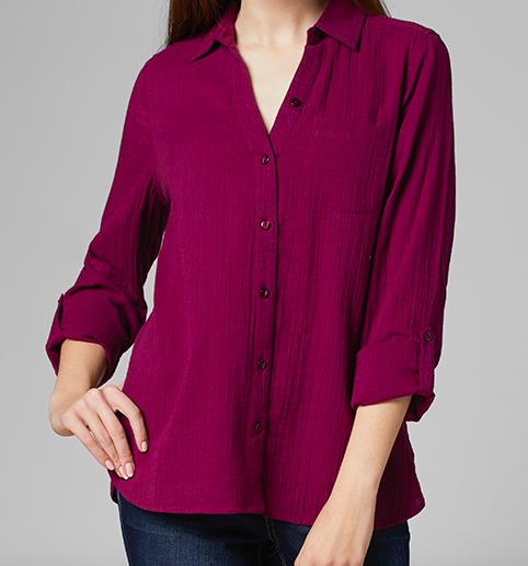Jag Jag Adley Shirt Violet
