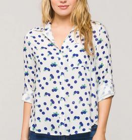 Velvet Heart Elisa Blueberry Shirt