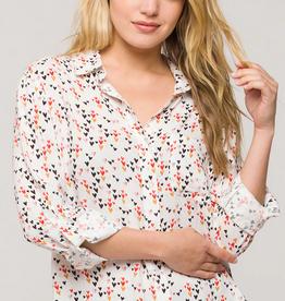 Velvet Heart Multi Heart Shirt