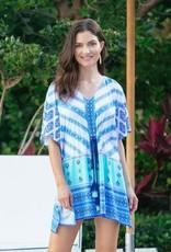 Cabana Life Tie Waist Cover Up Batik