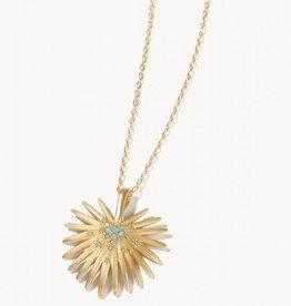Spartina Palmetto Frond Necklace