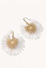 Spartina Palmetto Frond Fan Earrings